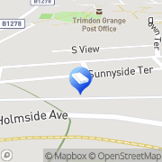 Map Rapid Response Drain Care Trimdon Station, United Kingdom