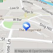 Map Cartwright King Sheffield, United Kingdom
