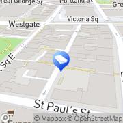 Map Wizu Workspace Leeds, United Kingdom
