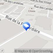 Carte de Tual Sols Amenagements Rennes, France