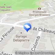 Carte de Lebreton Rennes, France