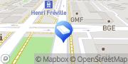 Carte de Agence d'Emploi Manpower Rennes Tertiaire Rennes, France