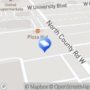 Map Cashway West Ace Hardware Odessa, United States