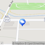 Map Kline Funeral Chapel Belle Fourche, United States