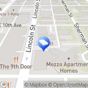 Map Marketing Gurus Denver, United States