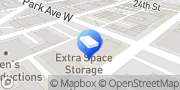 Map Extra Space Storage Denver, United States