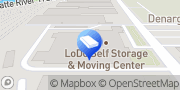 Map LoDo Self Storage & Moving Center Denver, United States