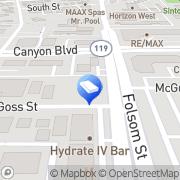 Map Fronczak, Richard S DDS PC Boulder, United States