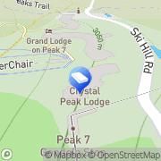 Map Crystal Peak Lodge Breckenridge, United States