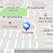 Map Trusted Window Cleaning Company Parkview Mesa, United States