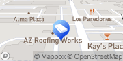Map AZ Roofing Works Mesa, United States