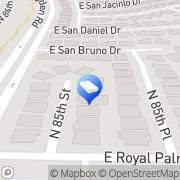 Map Bradley Butler Scottsdale, United States