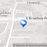 Map Coronado Apartments Tempe, United States