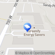 Map Greenify Energy Savers Sandy Heights South, United States