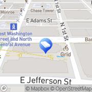 Map Kelly Law Team Phoenix, United States