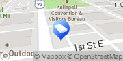 Map Website Express Kalispell, United States