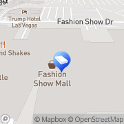 Map Davidoff of Geneva Cigar Bar Las Vegas, United States