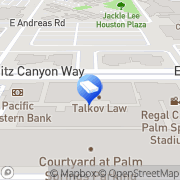 Map Moran Law Firm Palm Springs, United States