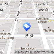 Map Domestic Violence Attorney San Diego, United States