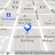 Map 625 Broadway San Diego, United States