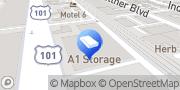 Map A-1 Self Storage San Diego, United States