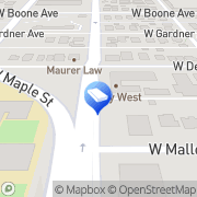 Map Woodard and Hughes Spokane, United States