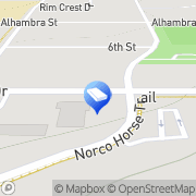 Map Church On The Hill Chrstn Chld Norco, United States