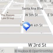 Map Centro Latino Santa Ana, United States