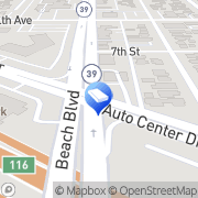 Map Car Accident Injury Lawyer Fullerton Buena Park, United States