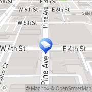 Map Archstone City Place Long Beach, United States