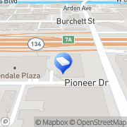 Map The Law Office of Tina Sardary Glendale, United States