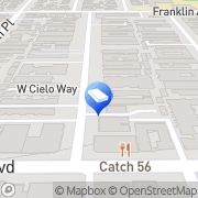 Map Gramercy Place Apartments Los Angeles, United States