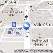 Map Local Mega Locksmith Hollywood, United States