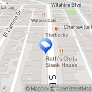 Map Gateway Cleaners Beverly Hills, United States