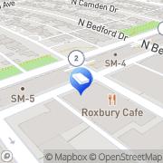 Map Novex Custom Tailor Beverly Hills, United States