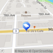 Map Clarica Life Insurance Co Osoyoos, Canada
