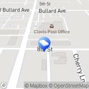 Map Trademark Pest Control Clovis, United States
