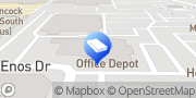 Map Office Depot - Tech Services Santa Maria, United States