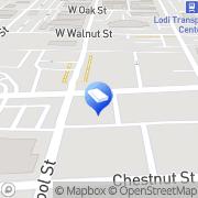 Map Lodi Sew/Vacuum Centers Lodi, United States
