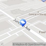 Map Central U Storage San Jose, United States