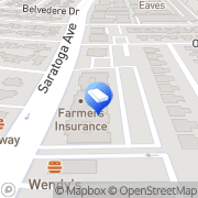 Map Barry Sabahat, Attorney San Jose, United States