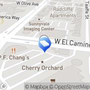 Map Hughesnet internet Sunnyvale, United States
