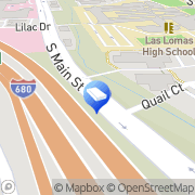 Map Brillant, David J. - Van De Poel & Levy, LLP Walnut Creek, United States