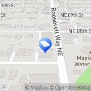 Map Merry Maids Seattle, United States