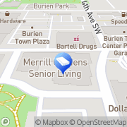 Map Merrill Gardens at Burien Burien, United States