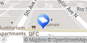 Map The Law Offices of Jeffrey R. Caffee Seattle, United States