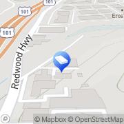 Map North Bay Moving & Storage San Rafael, United States