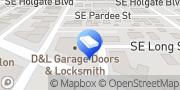 Map D&L Garage Doors & Locksmith Portland, United States