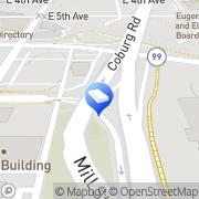 Map home cleaning eugene Eugene, United States