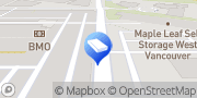 Map Maple Leaf Self Storage West Vancouver, Canada